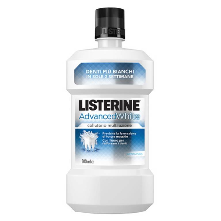 LISTERINE ADVANCE WHITE 500ML